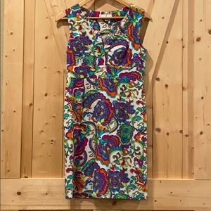 Jude Connally Multicolored Sleeveless Dress Size S